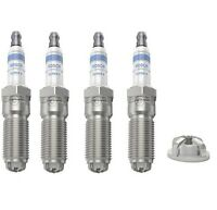 Spark Plugs x 4 Bosch Super 4 Fits Ford Focus C-Max (2003 - 2007) MPV 1.6 1.6 Ti