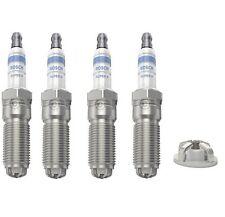 Spark Plugs x 4 Bosch Super 4 For Ford Fiesta MK IV 1.0 1.25 16v 1.4 16v 1.6 16v