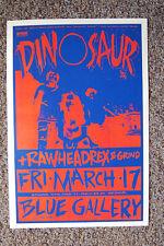 Dinosaur Jr Concert poster 1989  Portland Blue Gallery