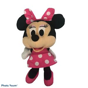 """Fisher-Price Disney's Minnie Mouse Plush Measures 13"""" Bright Colors Very Clean!"""
