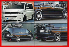 Ingo Noak VW Bus T5 Facelift kurz Bodykit (Spoiler- Heckansatz Seiten)
