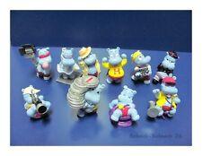 Ü-Ei Happy Hippo Hollywood Stars 1997 Komplettsatz +BPZ