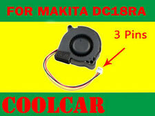 Cooling Fan for Makita battery Charger 14.4V 18V DC18RA DC18SE DC18RC Li-ion