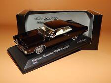 Mercury MARAUDER x-100 hardtop coupé 1969 NERO 400082120 Minichamps 1/43 OVP