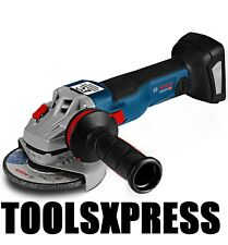 NEW BOSCH 18 VOLT CORDLESS BATTERY ANGLE GRINDER 125MM GWS18-125C - TOOL ONLY