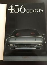 FERRARI 456 GT & GTA CAR SALES BROCHURE