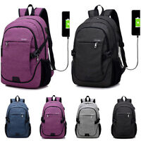 Multi-function Waterproof Anti-Theft Laptop Backpack USB Charge Port Travel Bag