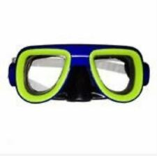 Swimming Goggles - Kids Recreation Dive Mask - (Blue)