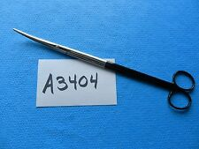"""V. Mueller Surgical 11.75"""" Super Cut Nelson Metz Curved Scissors CH2025-S  NEW"""
