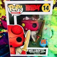 Hellboy with Sword PX Previews Exclusive Hellboy Comics Funko POP! #14