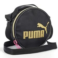 PUMA Shoulder Bag Womens Girls Ladies Sports Mini Messenger Satchel Round Pouch