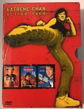 Extreme Chan Action Pack (DVD, 2000, 3-Disc Set) Jackie Chan