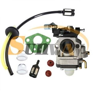 Carburettor for RYOBI RBC52SB RBC40SB RBC38SB Carburetor Fuel Line Filter Kit