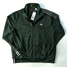 Adidas x Alexander Wang Men's Jacquard Track Jacket Green CG1998 NWT