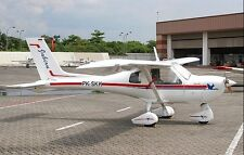 Jabiru J-200 Light Sport Homebuilt Aircraft Desktop Wood Model Small