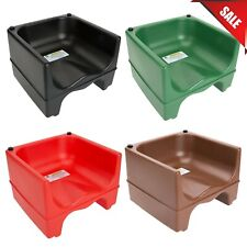 Colors Dual Height Plastic Nsf Stackable Restaurant Child Booster Chair Seat New