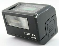 Excellent+++++ Contax TLA200 Black color Shoe Mount Flash For G1 G2 From Japan