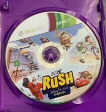 KINECT RUSH A DISNEY PIXAR ADVENTURE XBOX 360 AUS PAL CASE & DISC ONLY TOY STORY