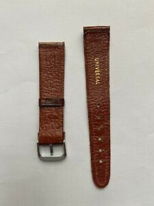 Universal Geneve - 18mm Leather Strap