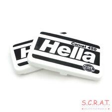 2x Original Hella Cover Cap Comet 450 Motorsport Rally 8XS137000-001