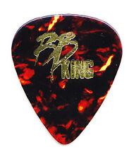 B.B. King Brown Faux Tortoise Guitar Pick #2 - 1990s Tours