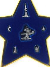 HALLMARK Keepsake 2001 SORCERER'S APPRENTICE Disney Fantasia CHRISTMAS ORNAMENTs