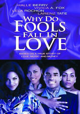 WHY DO FOOLS FALL IN LOVE - (Halle Berry) - DVD - Region Free