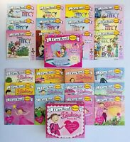 Fancy Nancy + Pinkalicious Kids Books Phonics Fun I Can Learn to Read Lot 24