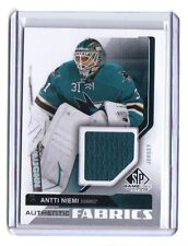 2014-15 SP Game Used Authentic Fabrics #AFAN Antti Niemi