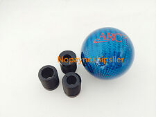 ARC JDM Racing Carbon Fiber Blue Stick Shift Knob Shifter Knob mazda sti s2000