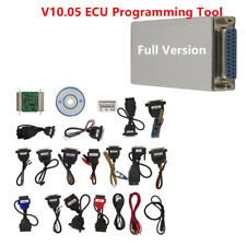 V10.05 Carprog Full Version w/ All 21 Adapters Car Autos ECU PROG Programmer Kit