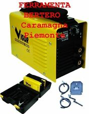 SALDATRICE VIGOR INVERTER 160 CORRENTE SALDATURA AMP.20-160A ELETTRODI 1,6 -3,2