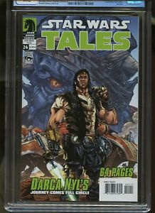 STAR WARS TALES #24 CGC GRADED 9.8 WHITE PAGES 2005 1st DARTH NIHILUS