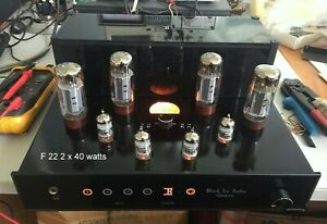 Jolida Black Ice Audio F22 50wpc integrated tube amplifier.Authorized dealer.