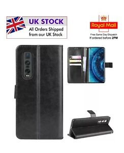 Oppo find x2 pro Wallet Flip Case with camera protection next day delivery 🇬🇧