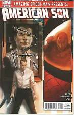 AMAZING SPIDERMAN PERSENTS, AMERICAN SON # 3 OF 4 SIDE EFFECTS. MARVEL COMIC