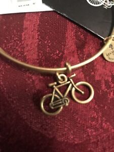 NEW! ALEX AND ANI Bike Charm Bangle | Pan-Mass Challenge Bangle Bracelet B25
