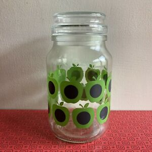 Beautiful Orla Keily 200g Douwe Egberts Jar Green Apples Pattern
