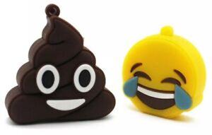 Emojis Smile Shit Smiley Scheiß Haufen 32GB USB Stick Geschenk Idee