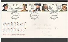 UNITED KINGDOM: #19 - FDC / FAMOUS BRITONS-1982  / Fine Used-Offered AS IS.