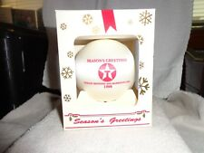 Vintage Texaco Christmas Tree Ornament 1996