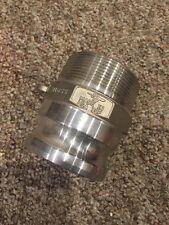 New Pt 30f 316 Stainless Steel Camlock Cam Lock Male Npt X Male Adaptor