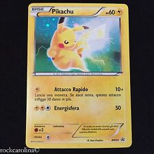 Pikachu HOLO RARE PROMO BW54 (NM/M) ITALIAN Black Star PROMO Pokemon Card