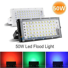 50W Led Flood Light 220V Floodlight Spotlight  Red Green Blue LED Street Lamp