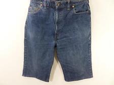 Vintage Reworked Denim Casual Shorts Mens Blue size w38 Grade B M355