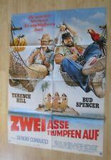 Filmplakat : Zwei Asse trumpfen auf ( Bud Spencer , Terence Hill )