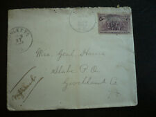 Postal History - USA - Columbian Issue Cover - Oxford, NC to Slabe, Virginia