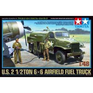 Tamiya 32579 1/48 US Airfield Fuel Truck Plastic Model Kit Brand New
