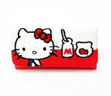 Hello Kitty x Loungefly Long Wallet Milk Bottle Chenille Sanrio Kawaii BNWT