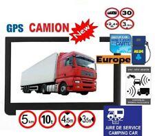 GPS ROCKSTARS POIDS LOURD CAMION ET CAMPING CAR ET BUS ECRAN 7 POUCES HD EUROPE